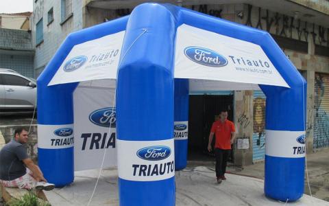 Tenda Inflável Ford Triauto